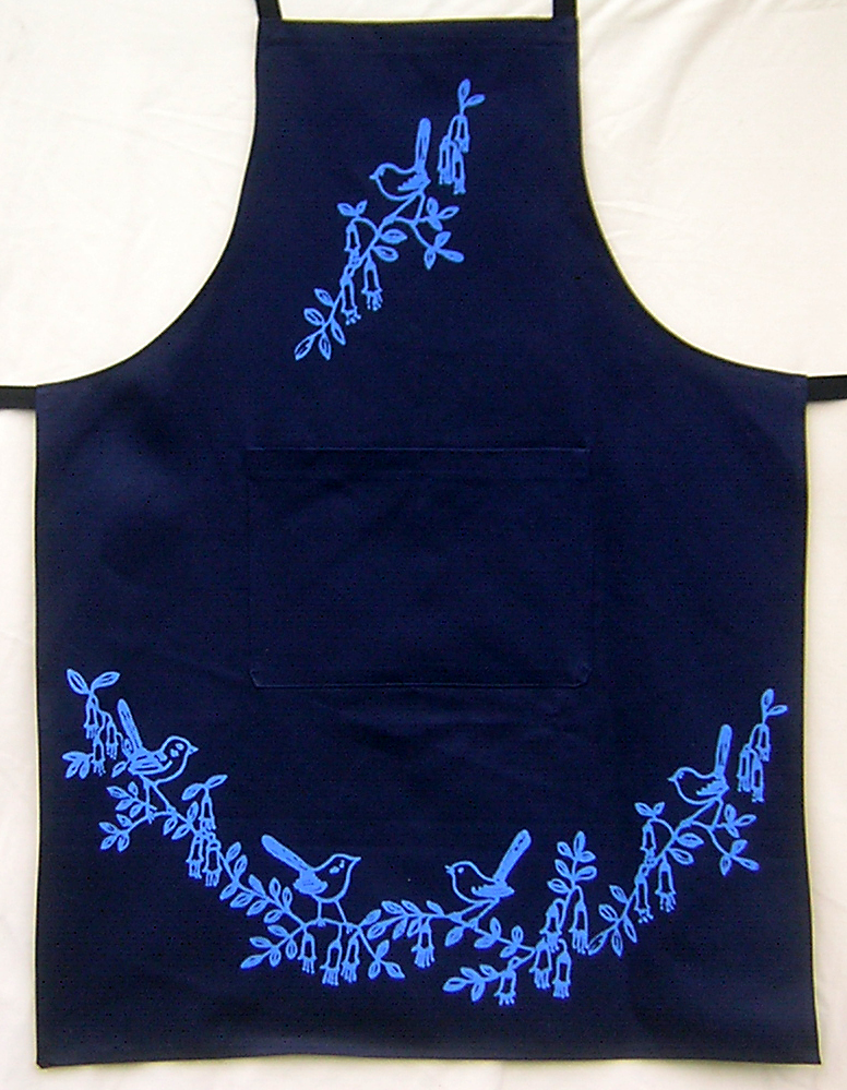 Blue wrens (large design)