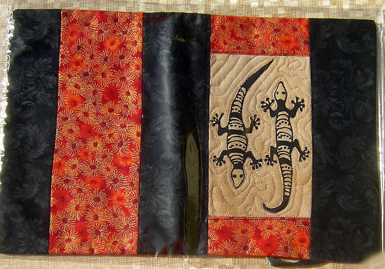 Gecko Journal Cover - opened