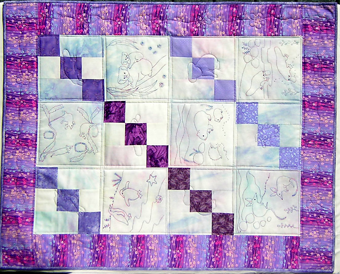 Cot Quilt Stitcheries