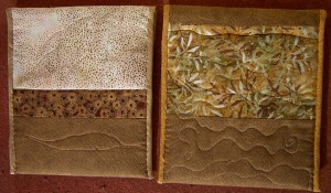 quilted, padded covers