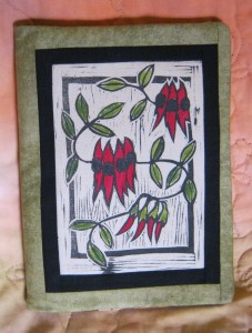 Journal cover Desert pea